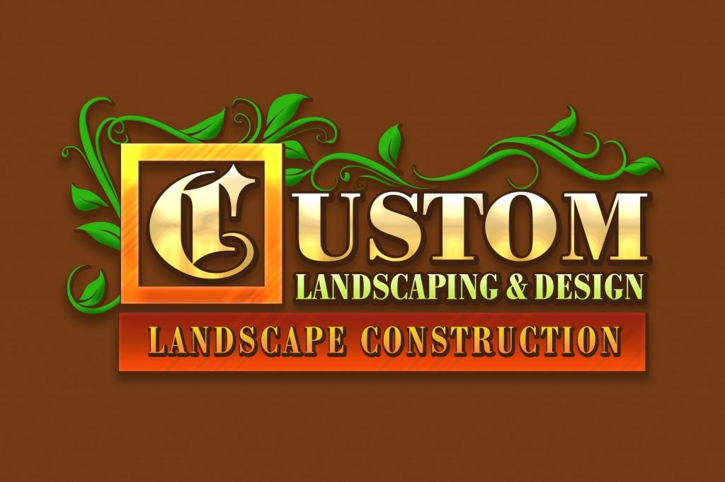 Custom Landscaping & Design Logo
