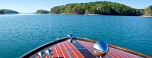 Boating on Lake Keowee