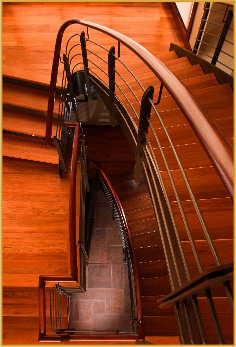 Morgan-Keefe Builders Stairs