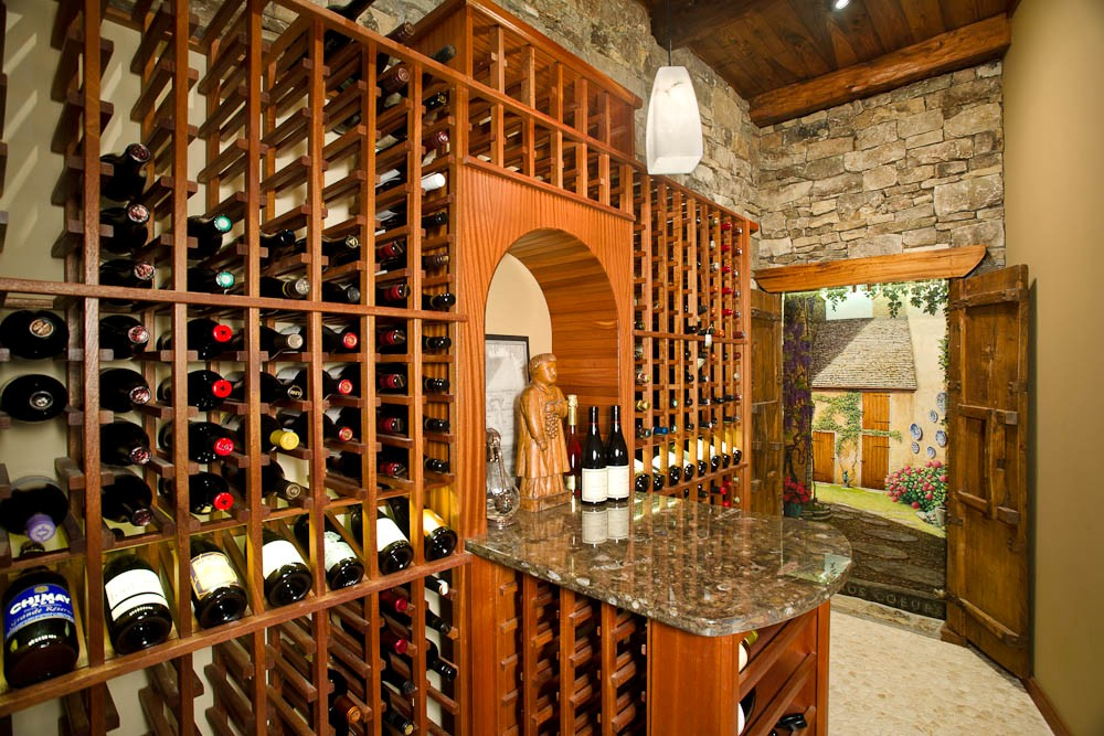 Arthur Rutenberg Homes - Wine Celler