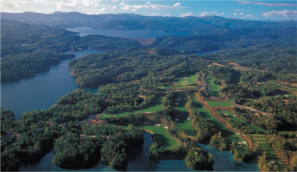 The Cliffs at Keowee Vineyards Golf Course and Lakes