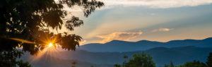 Crescent Mountain Vineyards Sunset